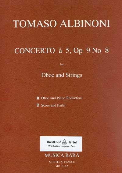 CONCERTO a 5, Op.9 No.8 in G minor