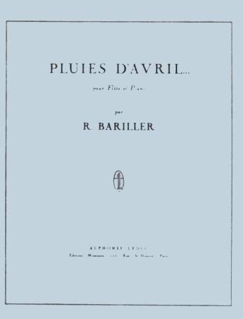 PLUIES D'AVRIL