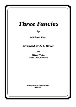 THREE FANCIES score & parts