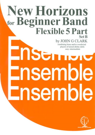 NEW HORIZONS for Beginner Brass Ensemble: Score