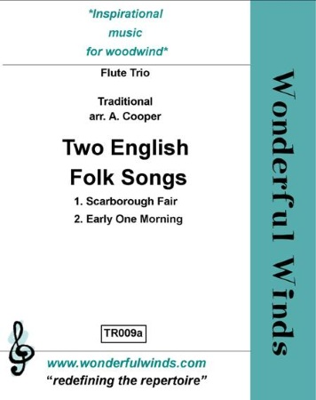 TWO ENGLISH FOLK SONGS (score & parts)
