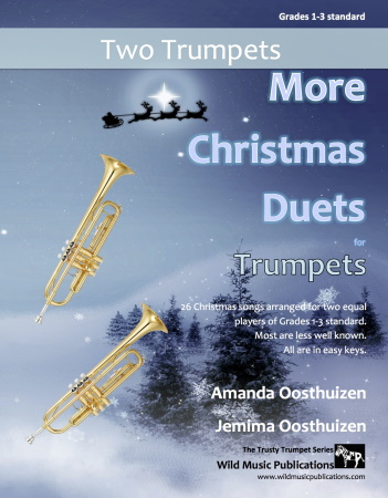 MORE CHRISTMAS DUETS  for Trumpets