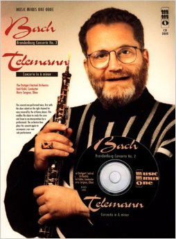 BRANDENBURG CONCERTO No.2 & CONCERTO in A Minor + CD