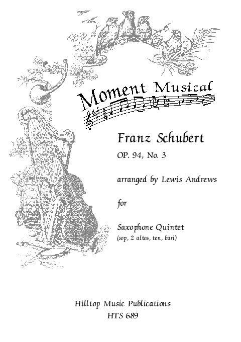 MOMENT MUSICAL Op.94 No.3 (score & parts)