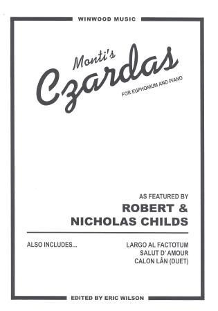 MONTI'S CZARDAS (treble/bass clef)