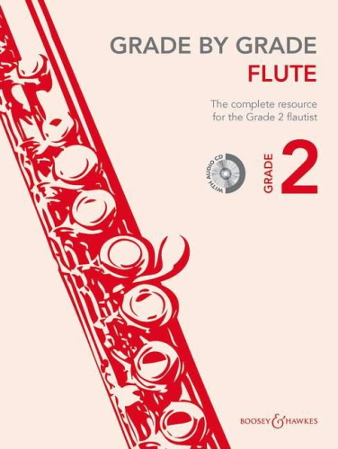 GRADE BY GRADE Flute Grade 2 + CD