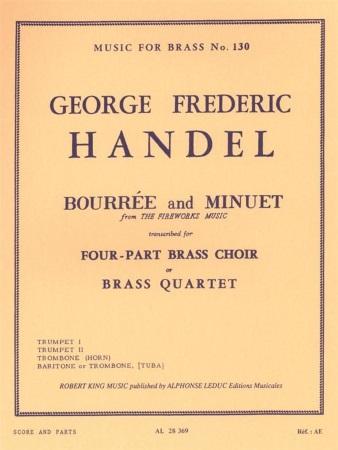 BOURREE AND MINUET (score & parts)