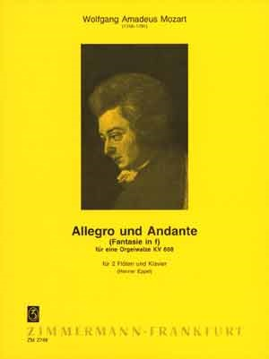 ALLEGRO AND ANDANTE (from KV608)