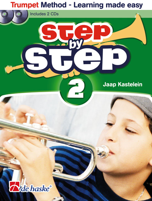 STEP BY STEP Book 2 + CDs for trumpet