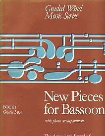 NEW PIECES FOR BASSOON 1: Grades 3-4
