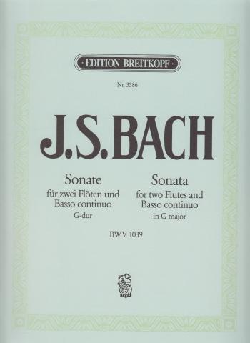 SONATA in G major BWV 1039