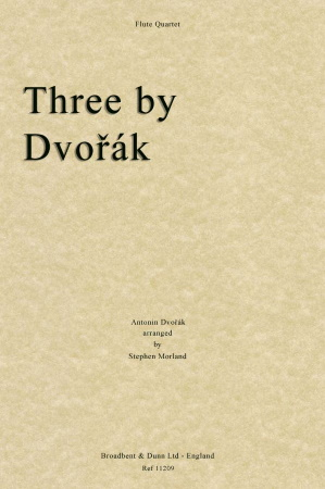 THREE BY DVORAK (score & parts)