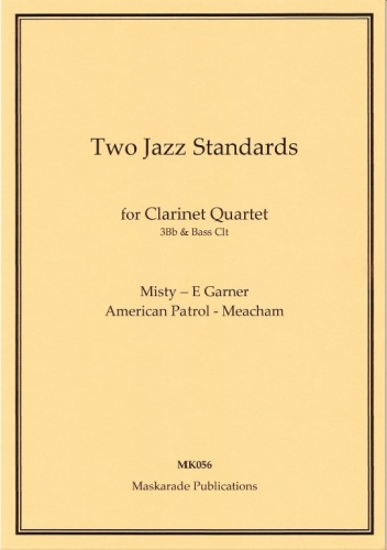 TWO JAZZ STANDARDS (score & parts)