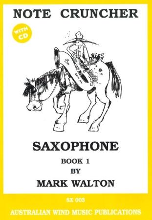 NOTE CRUNCHER: SAXOPHONE Book 1