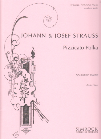 PIZZICATO POLKA (score & parts)