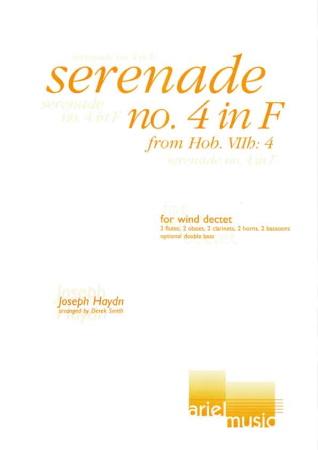 SERENADE No.4 in F score & parts