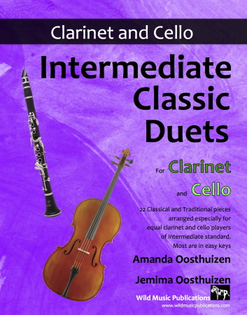 INTERMEDIATE CLASSIC DUETS for Clarinet & Cello