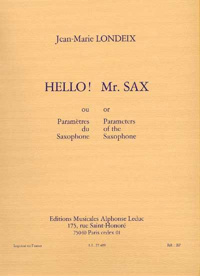 HELLO! MR SAX
