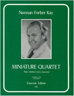MINIATURE QUARTET (score & parts)