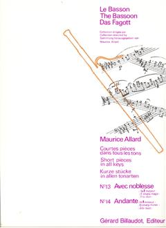 SHORT PIECES IN ALL KEYS 15 & 16: Majestieux & Tendrem