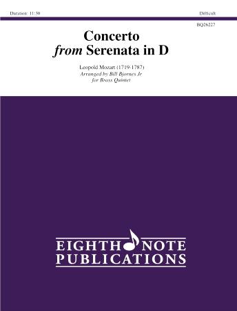CONCERTO from Serenata in D major
