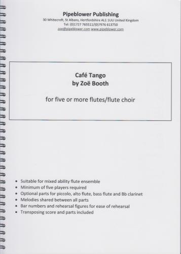 CAFE TANGO (score & parts)