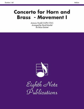 CONCERTO for Horn & Brass 1st Movement