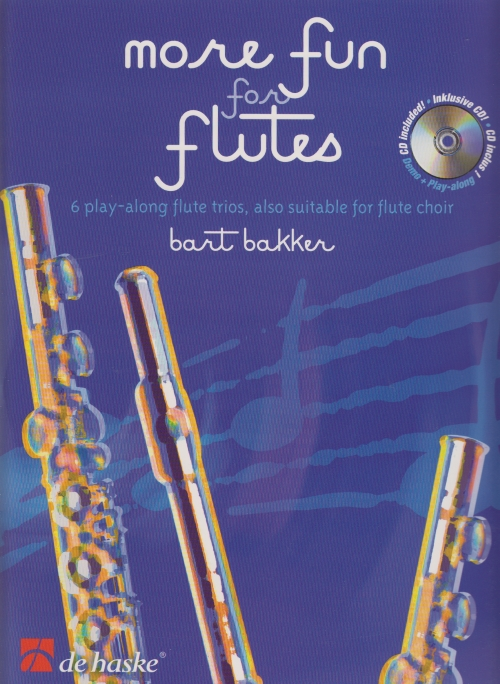 MORE FUN FOR FLUTES + CD