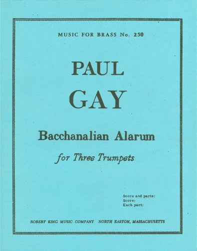 BACCHANALIAN ALARUM (score & parts)
