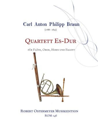 QUARTET in Eb major (score & parts)
