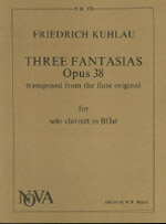 THREE FANTASIAS Op.38