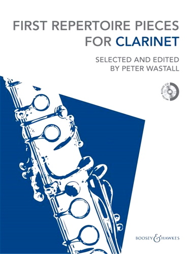 FIRST REPERTOIRE PIECES  for Clarinet + CD