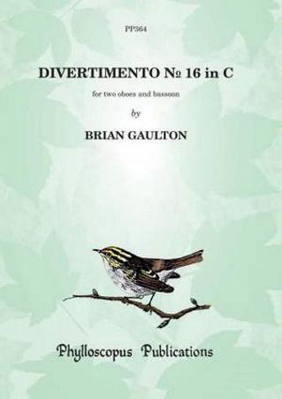 DIVERTIMENTO No.16 in C