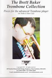THE BRETT BAKER TROMBONE COLLECTION (treble/bass clef)