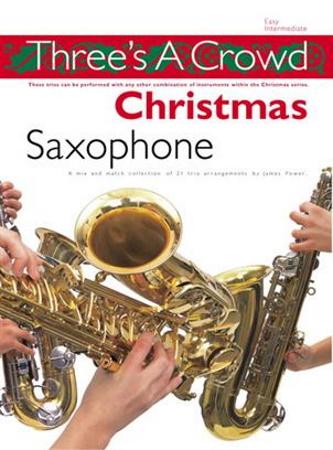 THREE'S A CROWD Christmas Book 4 Brass trio