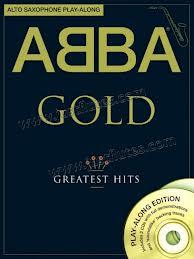 ABBA GOLD Alto Saxophone Playalong
