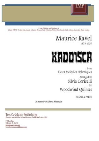 KADDISCH (score & parts)