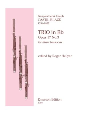 TRIO Op.17 No.3 (set of parts)