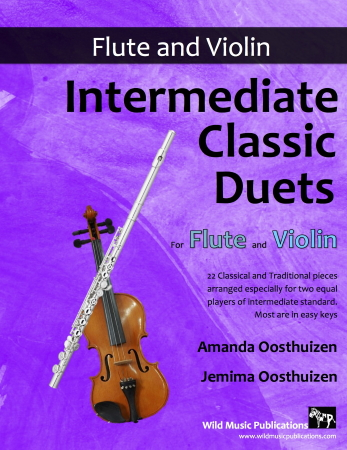 INTERMEDIATE CLASSIC DUETS for Flute & Violin