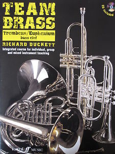 TEAM BRASS Trombone/Euphonium (bass clef) + CD