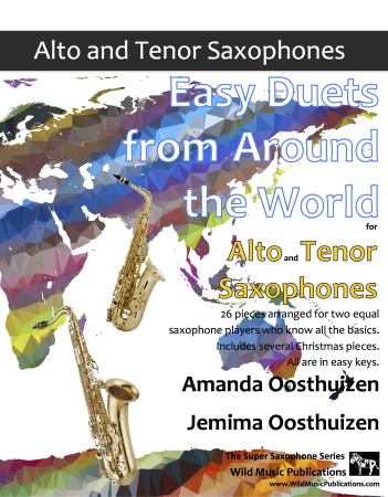 EASY DUETS FROM AROUND THE WORLD for Alto & Tenor Saxophones