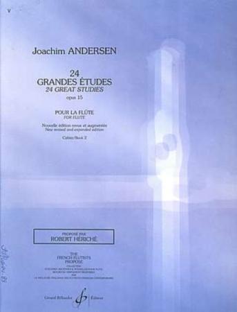 24 GRANDES ETUDES Op.15 Volume 2