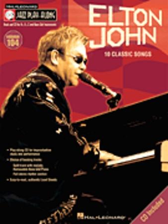 ELTON JOHN JAZZ PLAYALONG + CD