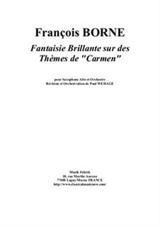 FANTASIE BRILLANTE on Themes of Carmen