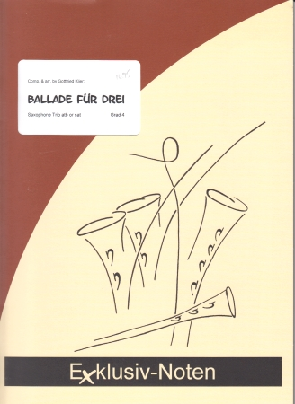 BALLADE FUR DREI (score & parts)