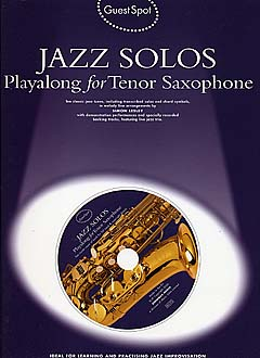 GUEST SPOT Jazz Solos Playalong + CD