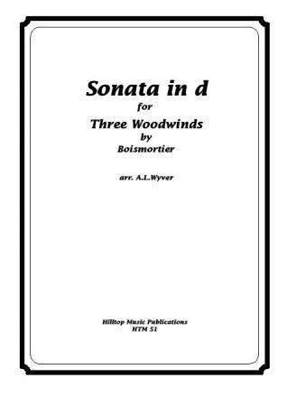 SONATA in D minor (score & parts)