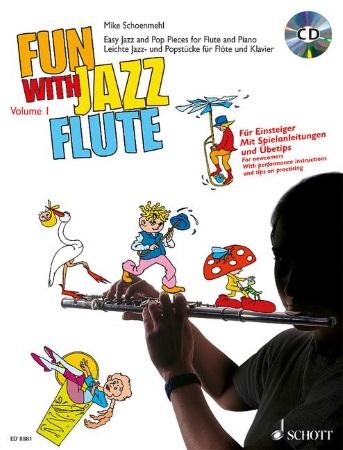 FUN WITH JAZZ FLUTE Volume 1 + CD