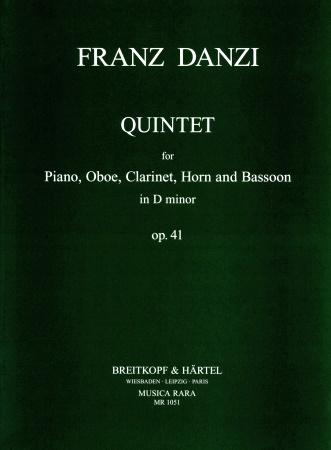 QUINTET in D minor Op.41