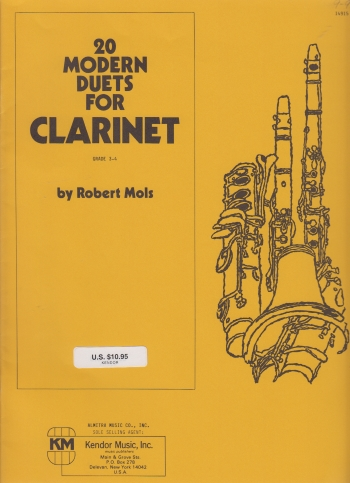 Clarinet Duets :: Clarinet :: Sheet Music